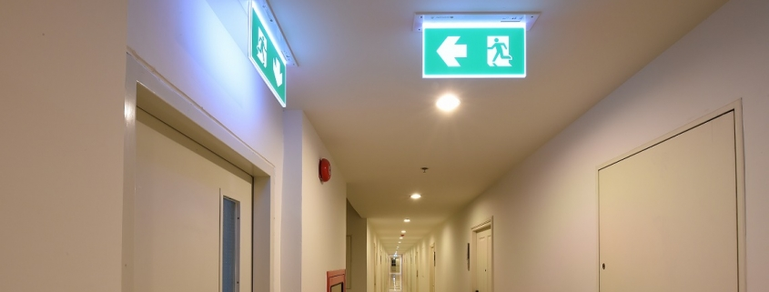 iluminat de urgenta cu gheata